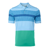 Kjus Men Engineered Stripe Polo S/S