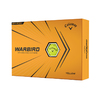 Callaway Warbird Golf Balls Yellow
