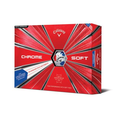 Callaway Chrome Soft 2018 Truvis Balls