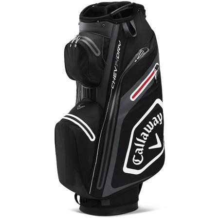 Callaway Chev Dry 14 Cart Bag Black/Charcoal