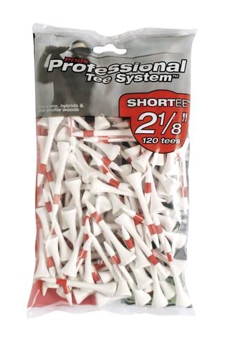 """Pride PTS 2 1/8"""" - 53mm Tees Red Pack 120"""