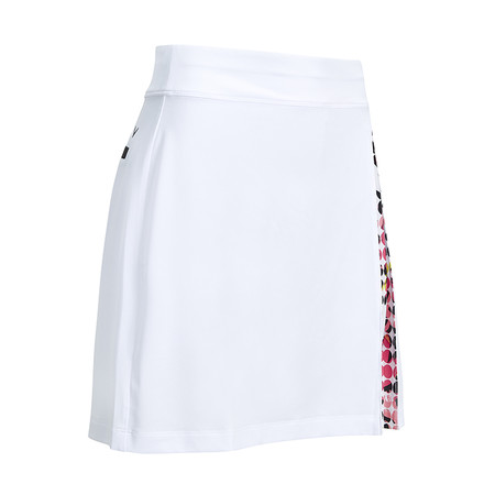 Callaway Abstract Print Peep Skort