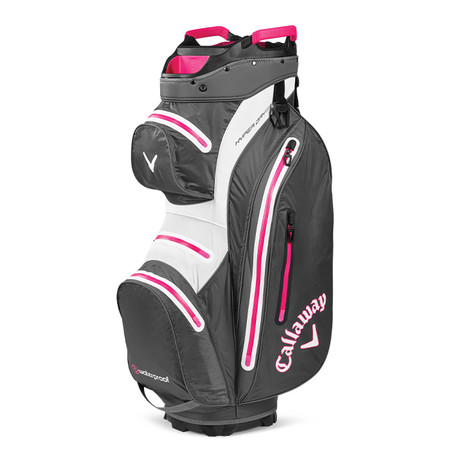 Callaway Hyper Dry 15 Cart Bag Charcoal/Pink