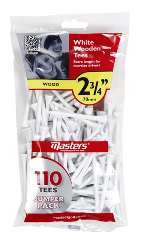 Wood Tees Bumpa Bag 110 White 2 3/4""