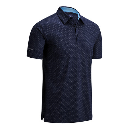 Callaway All Over Chev Print Polo