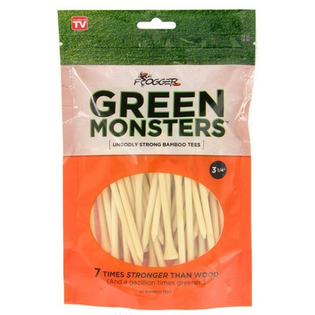Frogger Green Monsters 3 1/4 Bamboo Tees