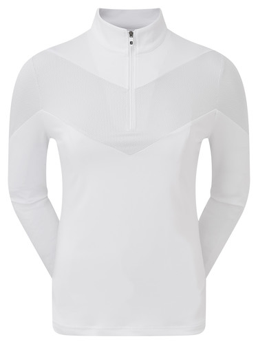 Footjoy Engineered Jersey Half Zip