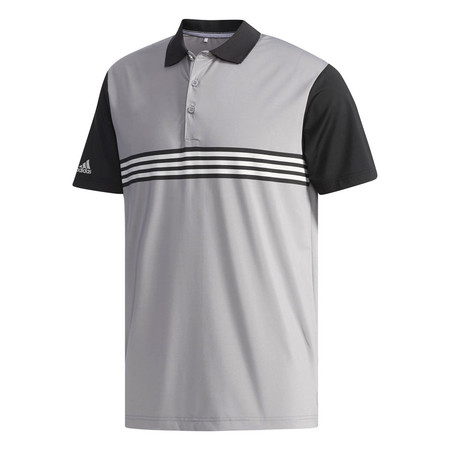 Adidas ULTIMATE365 3-Stripes Engineered Polo