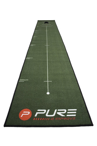 Pure 2 Improve Golf Putting Mat 400x66 cm