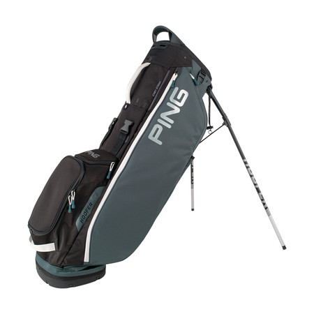 Ping Hoofer Lite Stand Bag Slite Black White