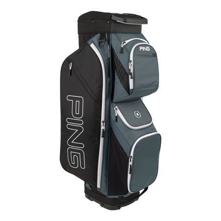 Ping Traverse Cart Bag Slate Black White