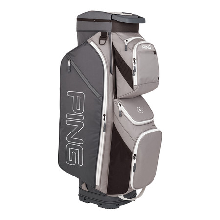 Ping Traverse Cart Bag Silver Gray White