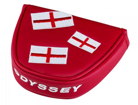 Odyssey Head Cover England Mallet