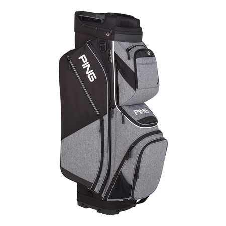 Ping Pioneer Cart Bag Heather Grey Black